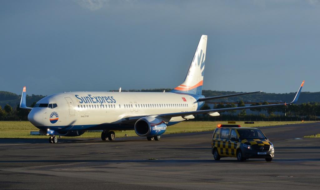 Die Airlines am SCN Airport: Mit SunExpress in die Türkei