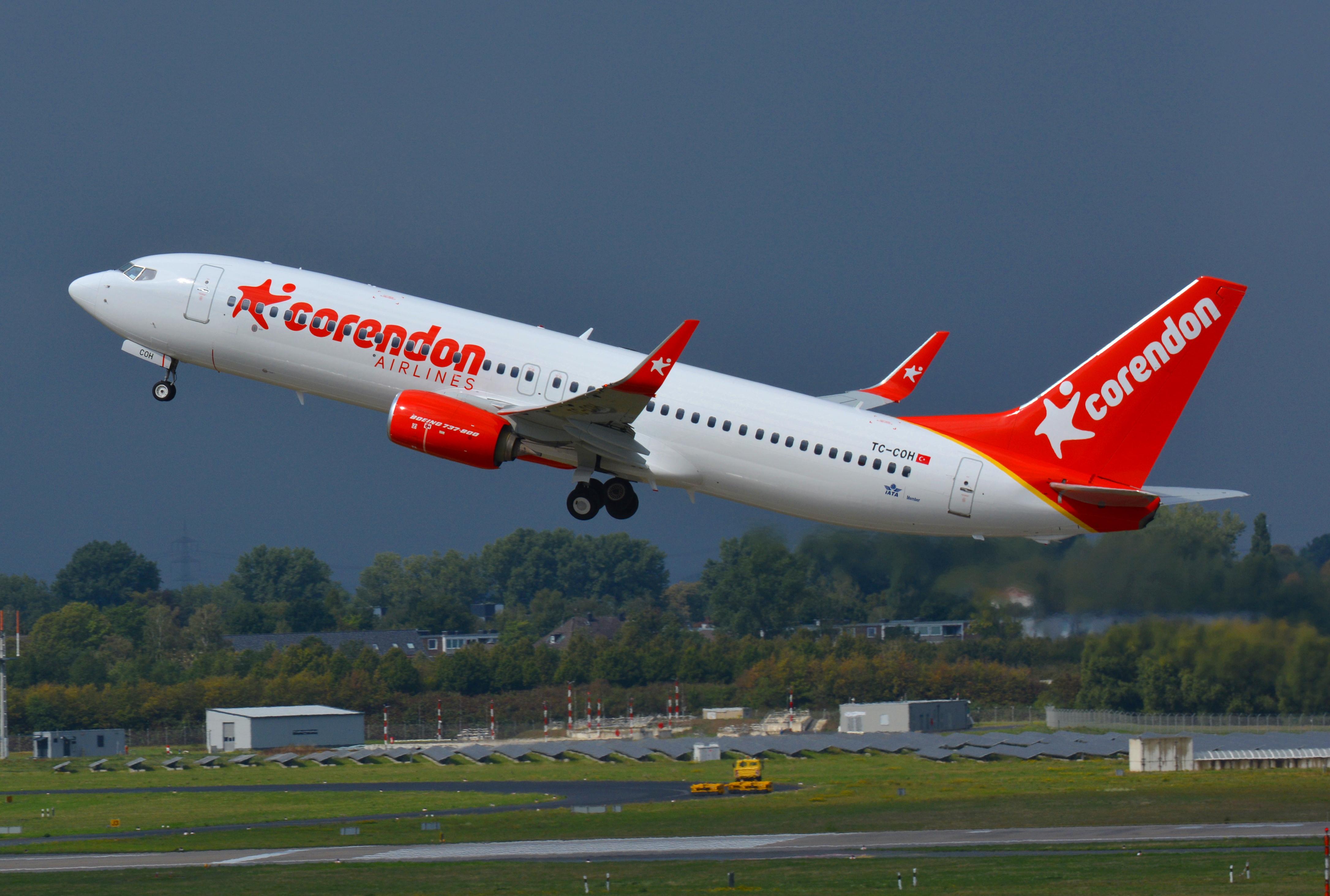Corendon Airlines ab 3.Juli 2021 ab Saarbrücken