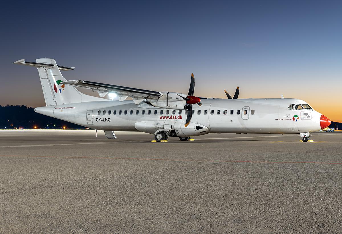 Ab 1. Januar 2020 abflugbereit nach TXL: Die ATR 72-600 am Flughafen Saarbrücken.
