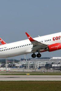 Corendon Airlines schaltet Winterflüge 2021/22 frei