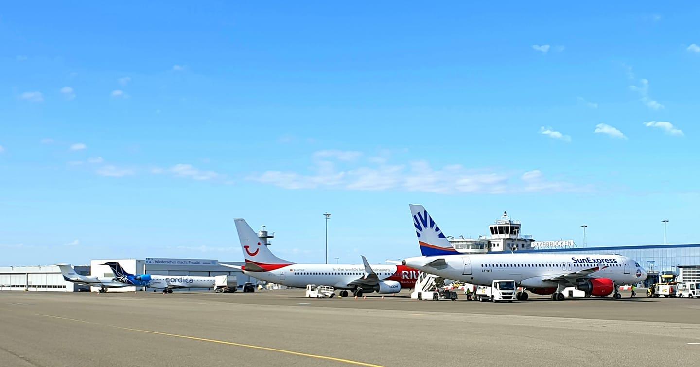 Winterflugplan: Von Saarbrücken auf die Kanaren, in die Türkei und nach Ägypten